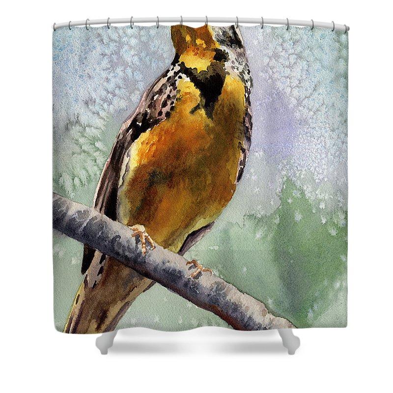 Meadowlark Shower Curtains