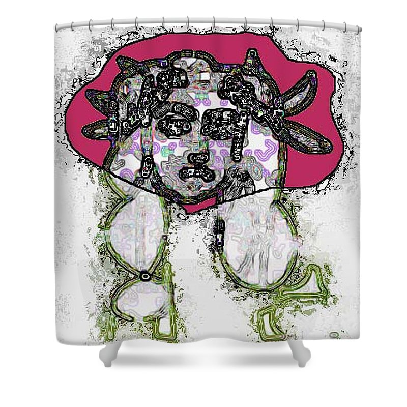 Medusa Shower Curtain featuring the photograph Medusa Looking Through by Bruce Iorio