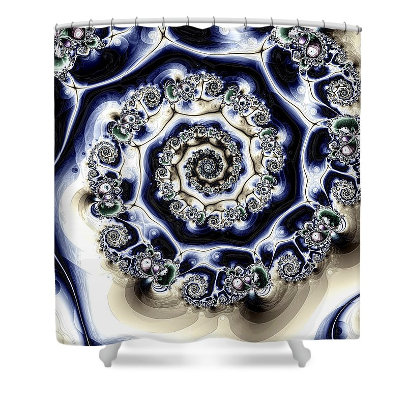Fine Art Shower Curtain featuring the photograph Metabolic by Kevin Trow