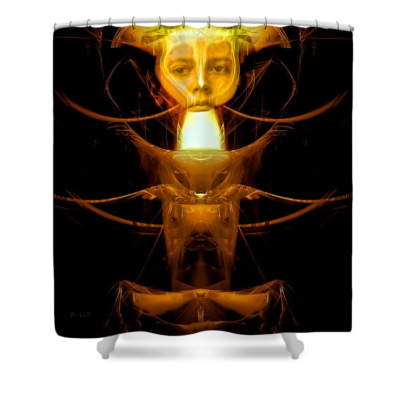 Metamorphosis Shower Curtain featuring the photograph Metamorphosis by Bob Orsillo