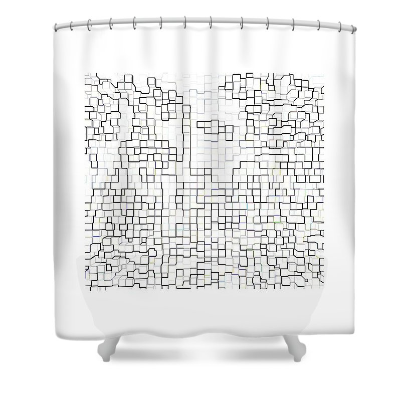 Abstracts Shower Curtain featuring the photograph Metamorphosis by Bruce Iorio