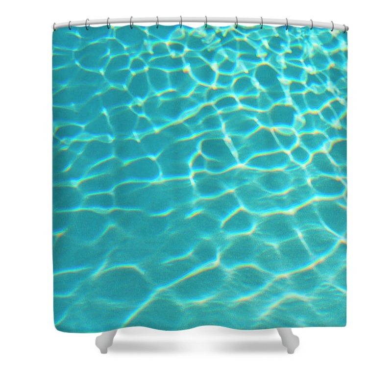 Vacations Shower Curtain featuring the photograph Mexico, Yucatan, Blue Water by Tetra Images