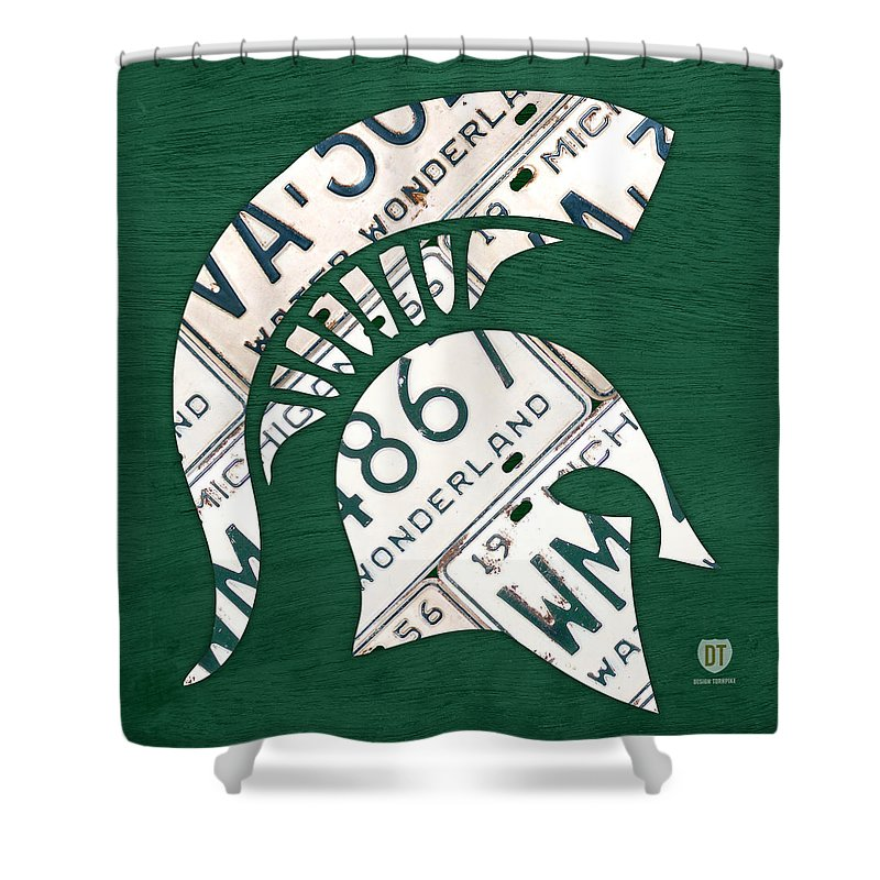 Michigan State Shower Curtains