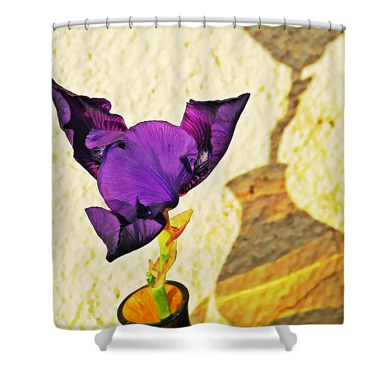 Bloom Shower Curtain featuring the photograph Mid November by Chris Berry