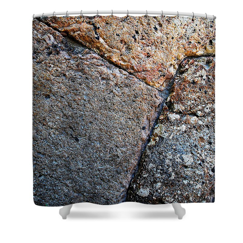 Becky Furgason Shower Curtain featuring the photograph #millstone by Becky Furgason