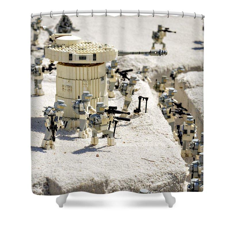 Lego Star Wars Shower Curtains