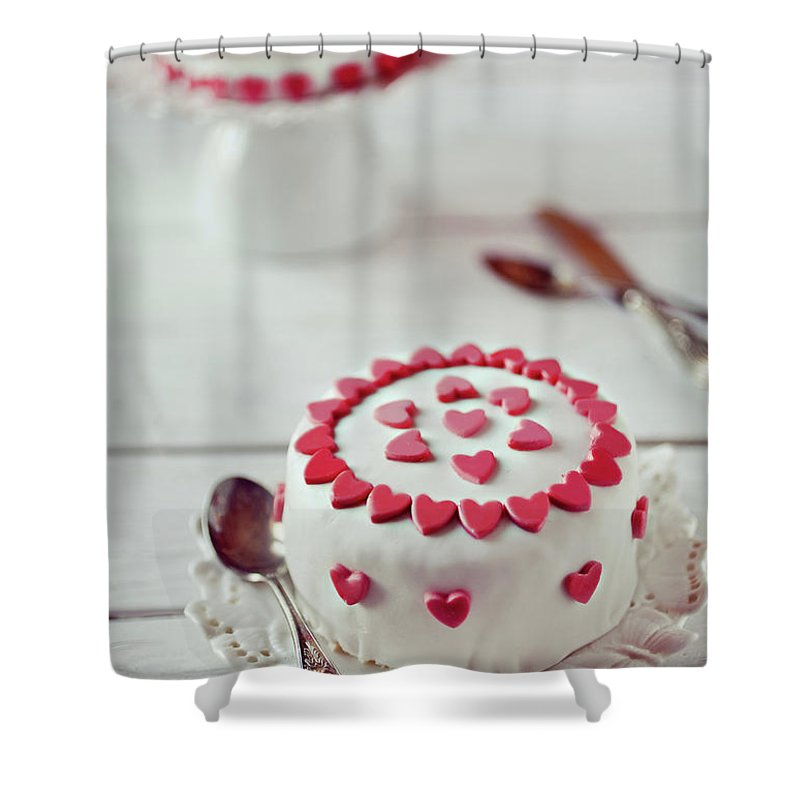 Temptation Shower Curtain featuring the photograph Mini Tortine by Uccia photography
