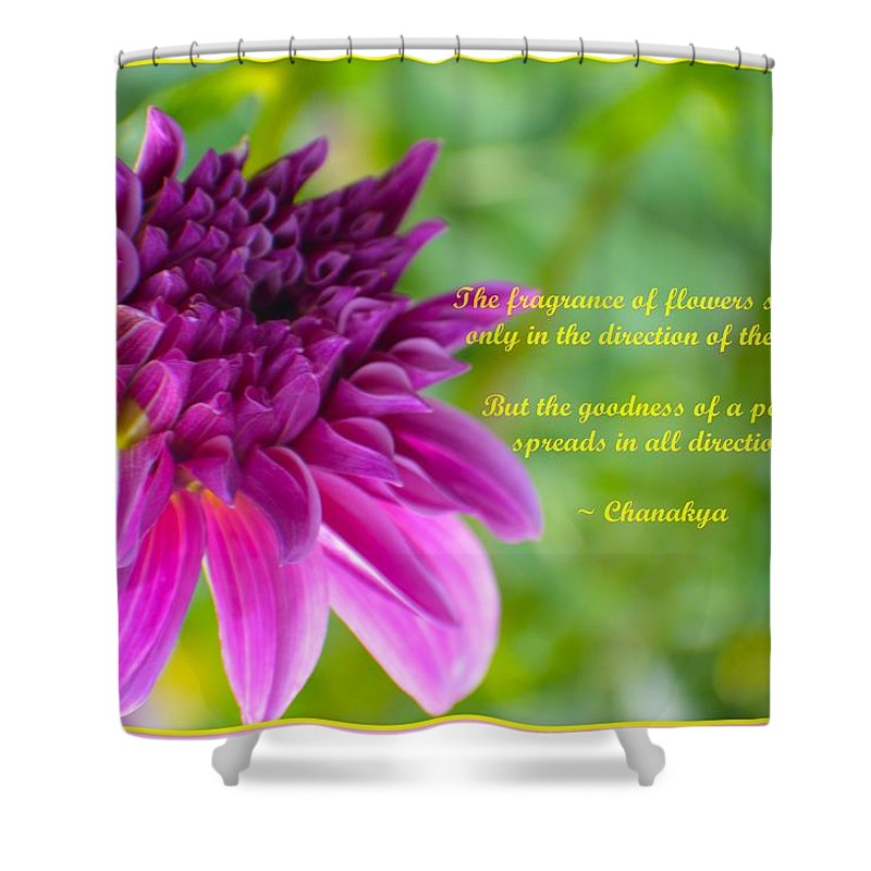 Momentofbloom Shower Curtain featuring the photograph Moment Of Bloom by Sonali Gangane