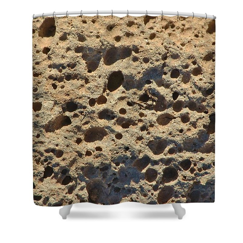 Linda Brody Shower Curtain featuring the photograph Moonscape by Linda Brody