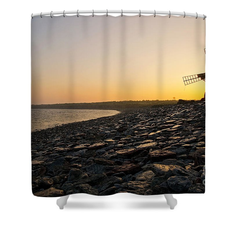Morning Shower Curtain featuring the photograph Morning Has Broken by Kennerth and Birgitta Kullman