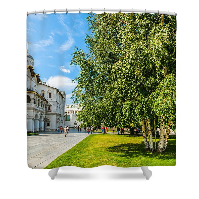 Apostle Shower Curtain featuring the photograph Moscow Kremlin Tour - 69 Of 70 by Alexander Senin