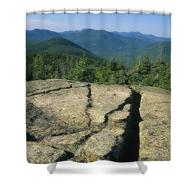 Hike Shower Curtain featuring the photograph Mount Crawford - White Mountains New Hampshire by Erin Paul Donovan
