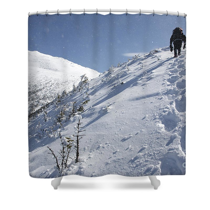 White Mountains Shower Curtain featuring the photograph Mount Madison - White Mountains New Hampshire Usa by Erin Paul Donovan