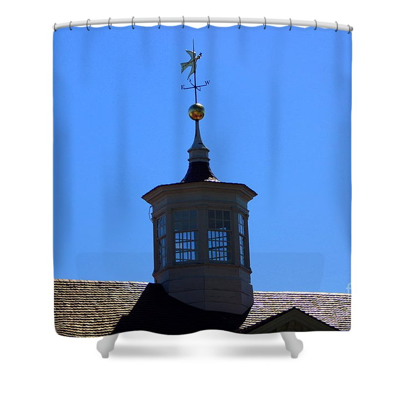 Mount Vernon Cupola Shower Curtain featuring the photograph Mount Vernon Cupola by Patti Whitten