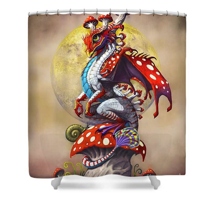 Dragon Shower Curtains