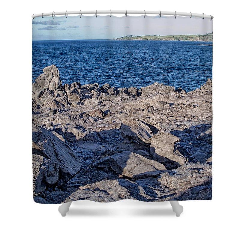Hawaii Shower Curtain featuring the photograph Napili 131 by Dawn Eshelman