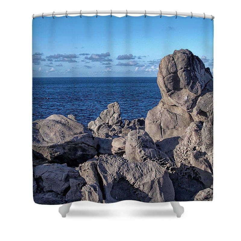 Hawaii Shower Curtain featuring the photograph Napili 135 by Dawn Eshelman