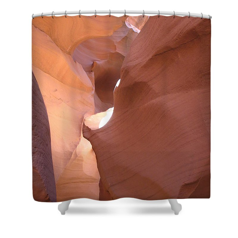 Canyon Shower Curtain featuring the photograph Narrow Canyon Viii - Antelope Canyon by Christiane Schulze Art And Photography