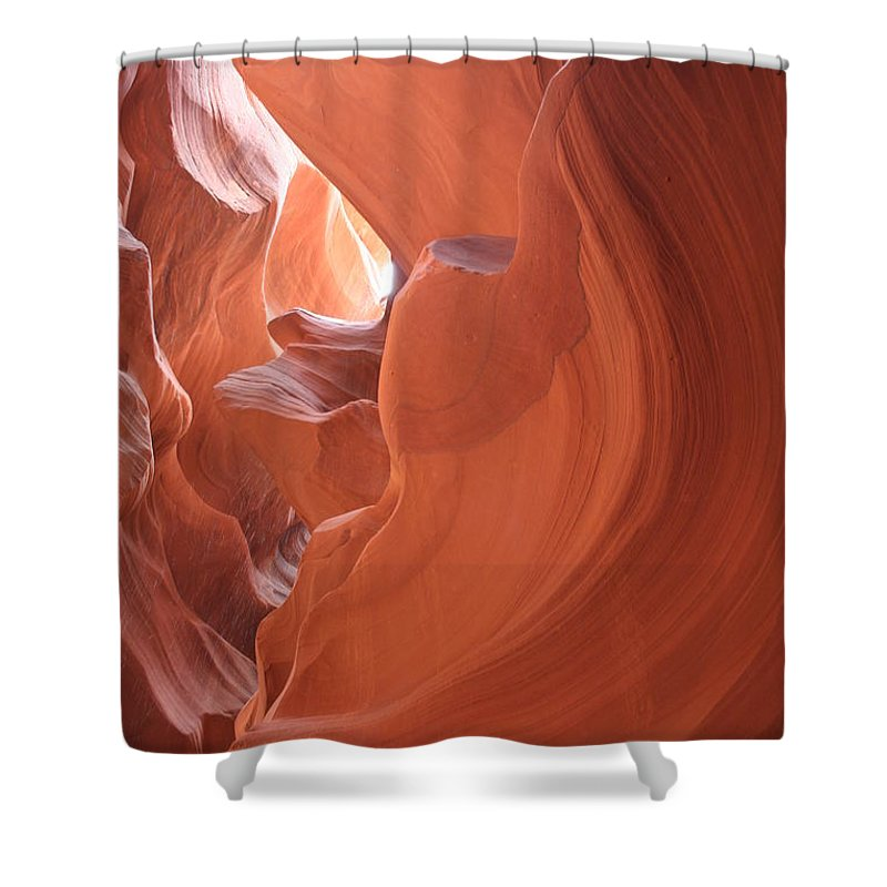 Canyon Shower Curtain featuring the photograph Narrow Canyon Xi by Christiane Schulze Art And Photography