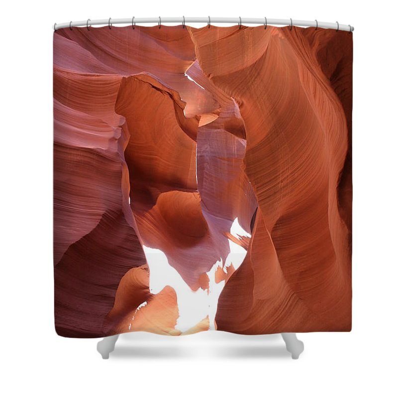 Canyon Shower Curtain featuring the photograph Narrow Canyon Xiii by Christiane Schulze Art And Photography