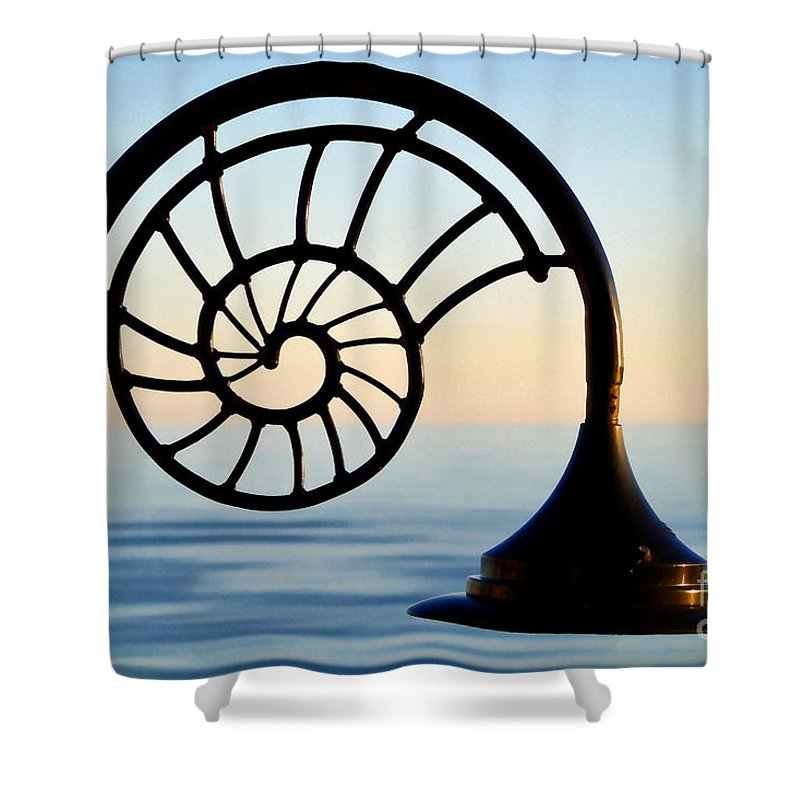 Sunset Shower Curtain featuring the photograph Nautilus by Susie Peek