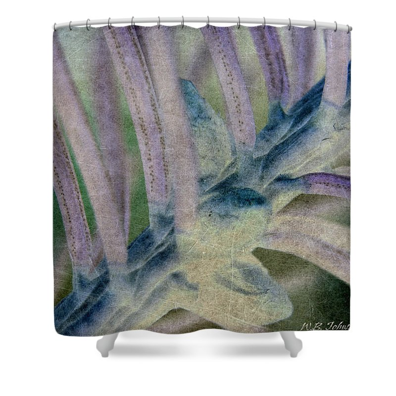 Pine Needles Shower Curtain featuring the photograph Needle Tex 5 by WB Johnston