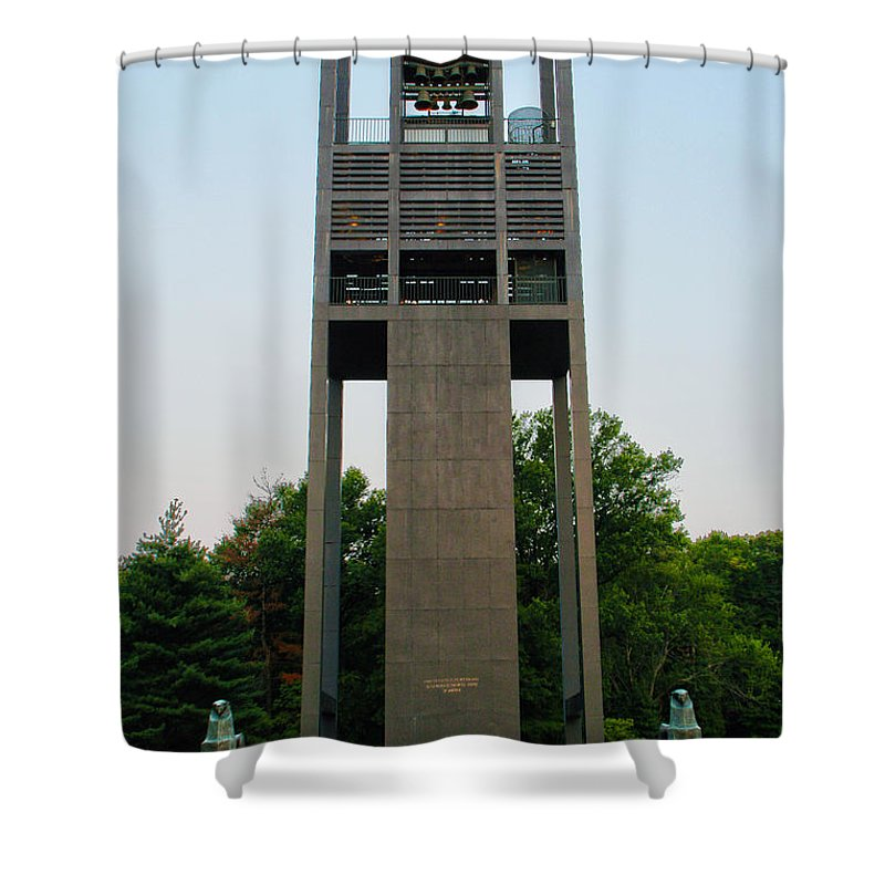 Netherlands Carillon Shower Curtain featuring the photograph Netherlands Carillon by Mitch Cat