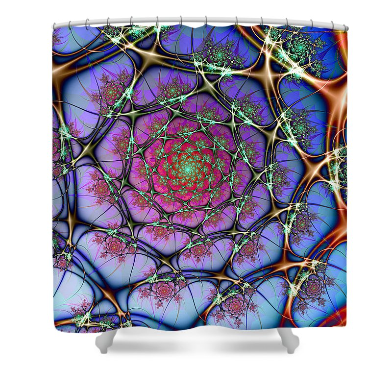 Fine Art Shower Curtain featuring the photograph Neural by Kevin Trow