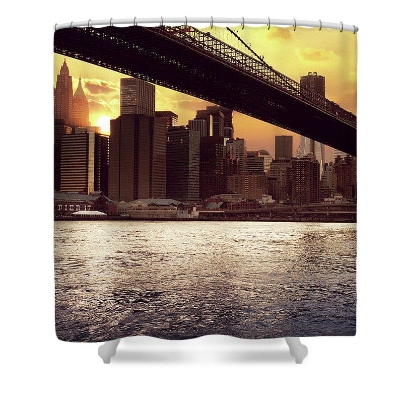 Tranquility Shower Curtain featuring the photograph New Beginnings by Aleks Ivic Visuals