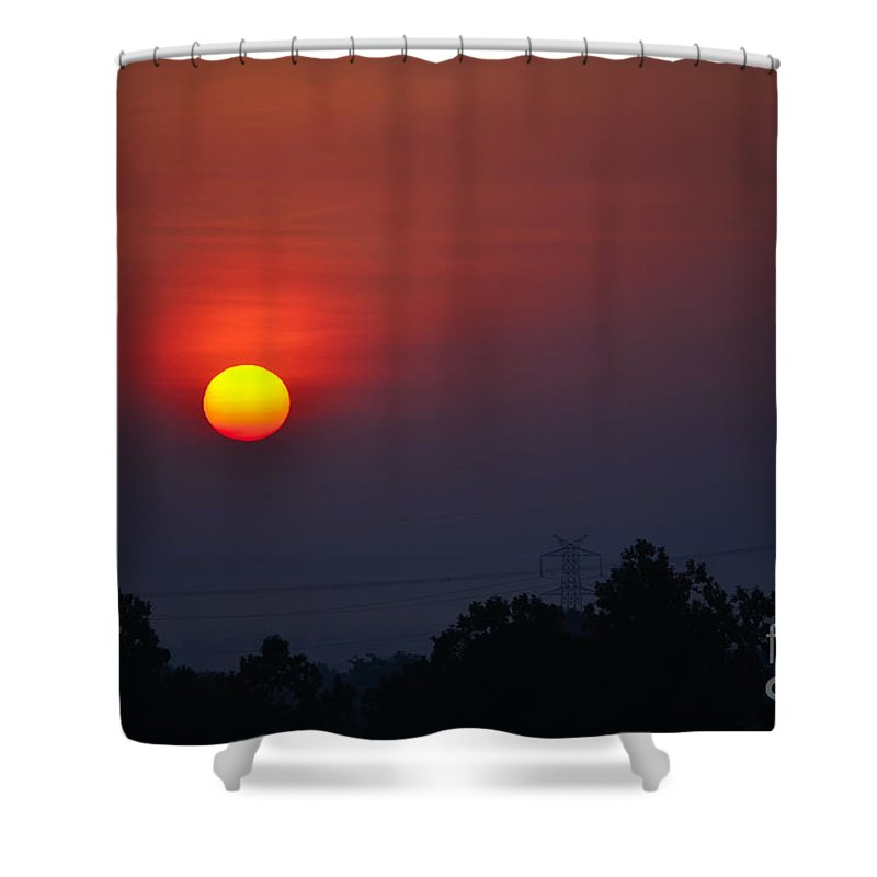 Dawn Shower Curtain featuring the photograph New Dawn by Image World