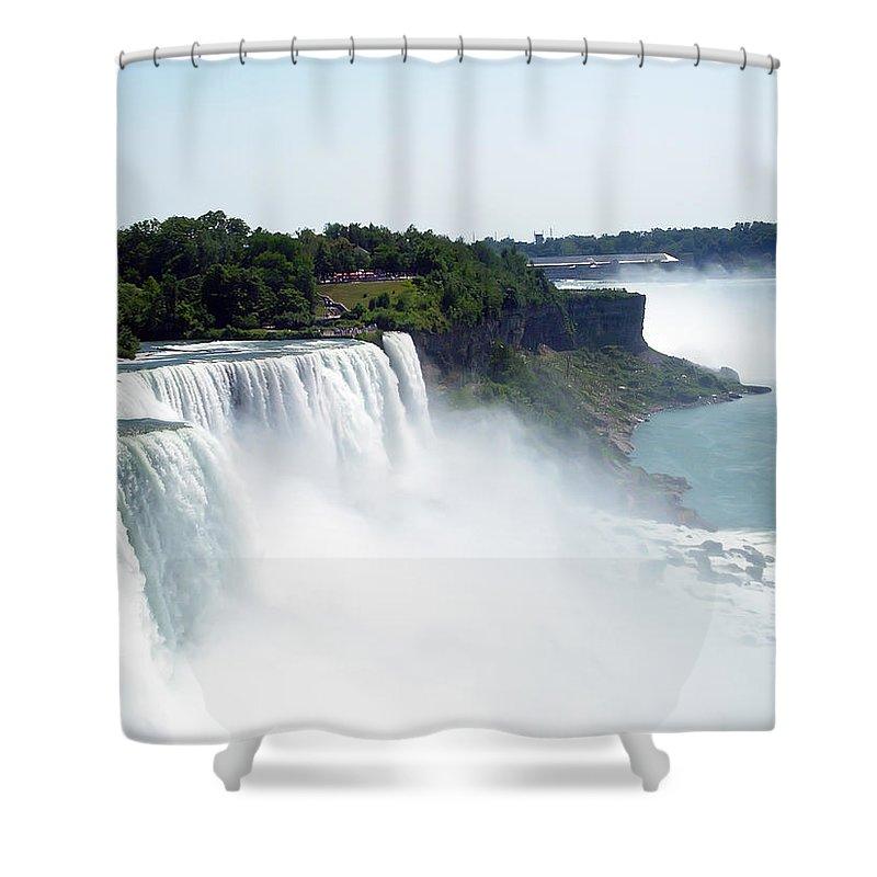 Niagara Falls Shower Curtain featuring the photograph Niagara Falls 2 by Aimee L Maher ALM GALLERY