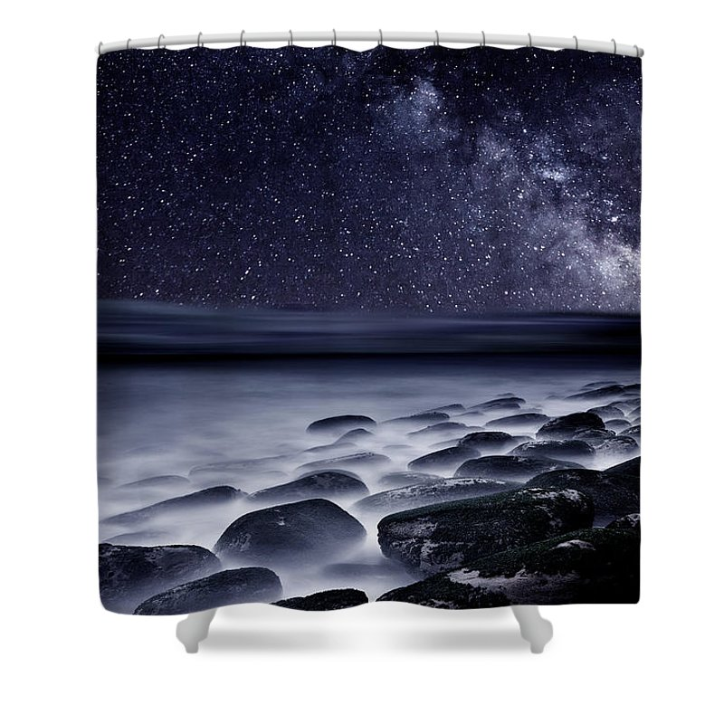 Milky Way Shower Curtains