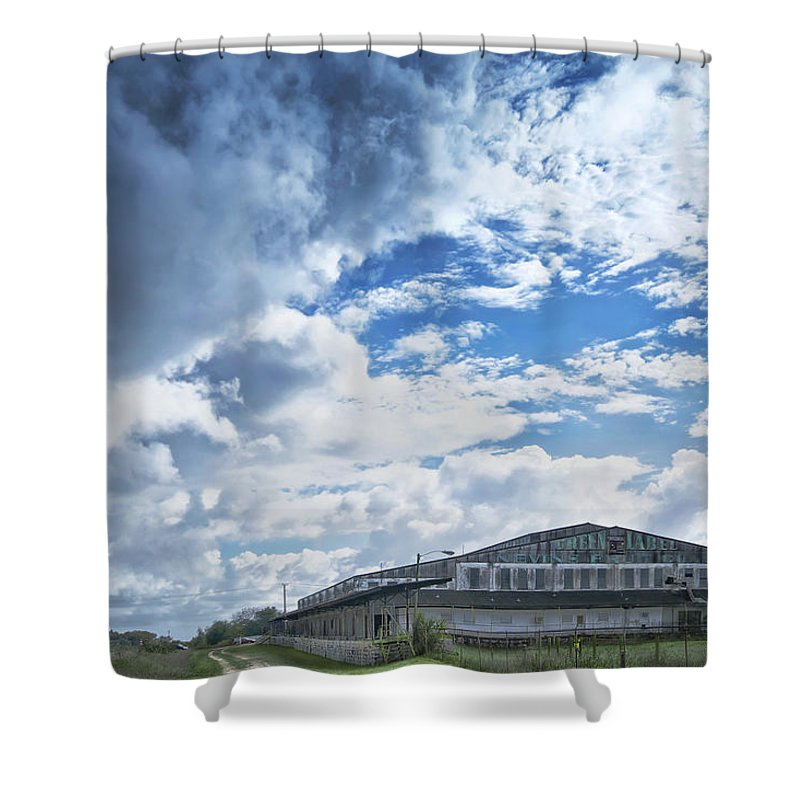Nevins Fruit Shower Curtain featuring the photograph Nivens Fruit Company by Louise Hill