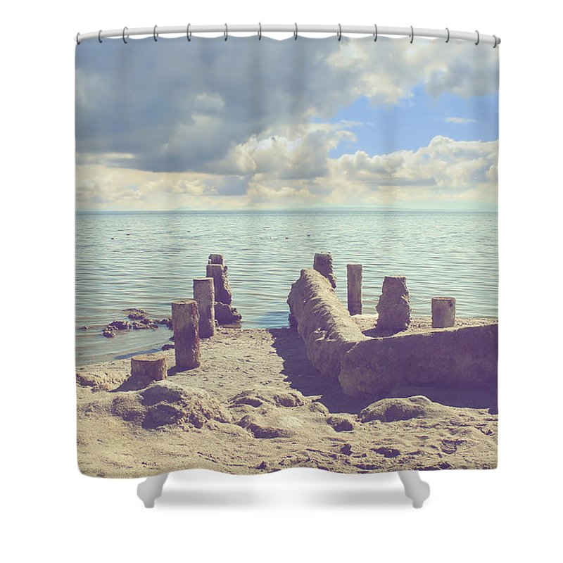 Bombay Beach Shower Curtains