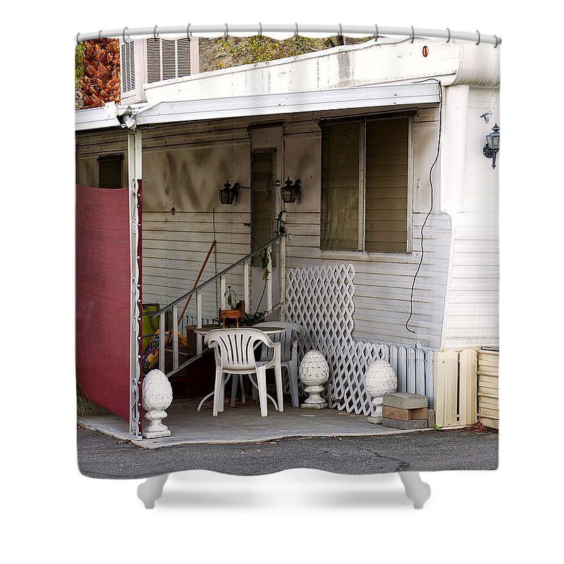 Shower Curtain featuring the photograph No Place Like Home by William Dey