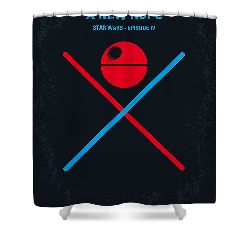 A New Hope Shower Curtains
