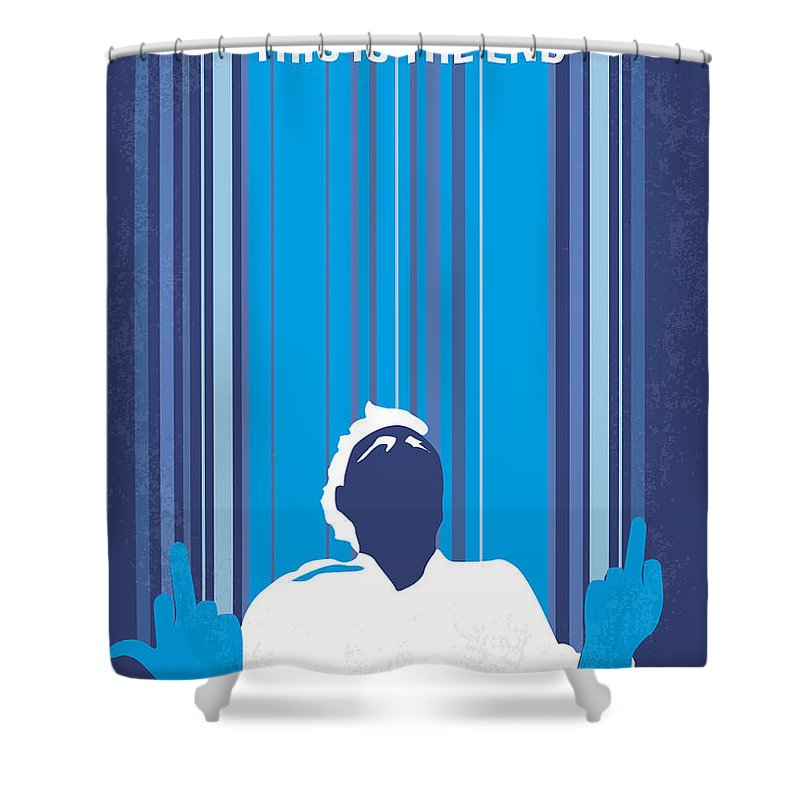 This Is Digital Art Shower Curtains