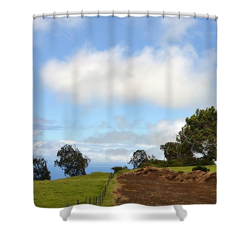 Kona Shower Curtain featuring the photograph North Kona Coast by Amy Fose