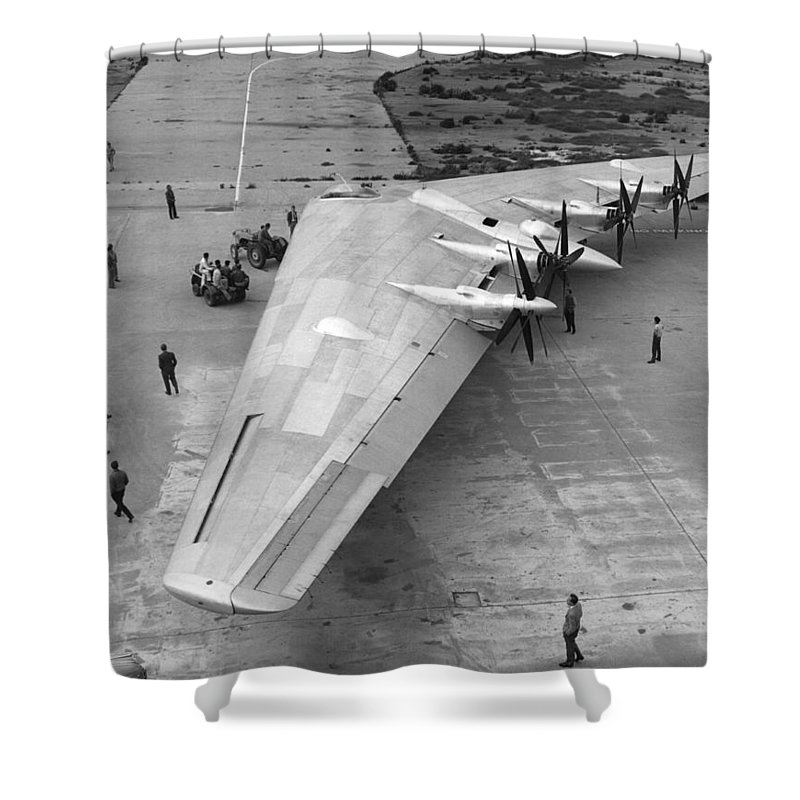 Fixed Wing Aircraft Shower Curtains