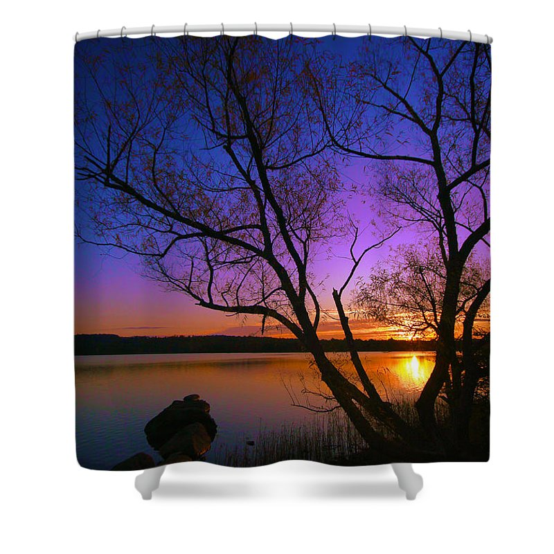 Sunrise Shower Curtain featuring the photograph Nothing Gold Can Stay by Mitch Cat