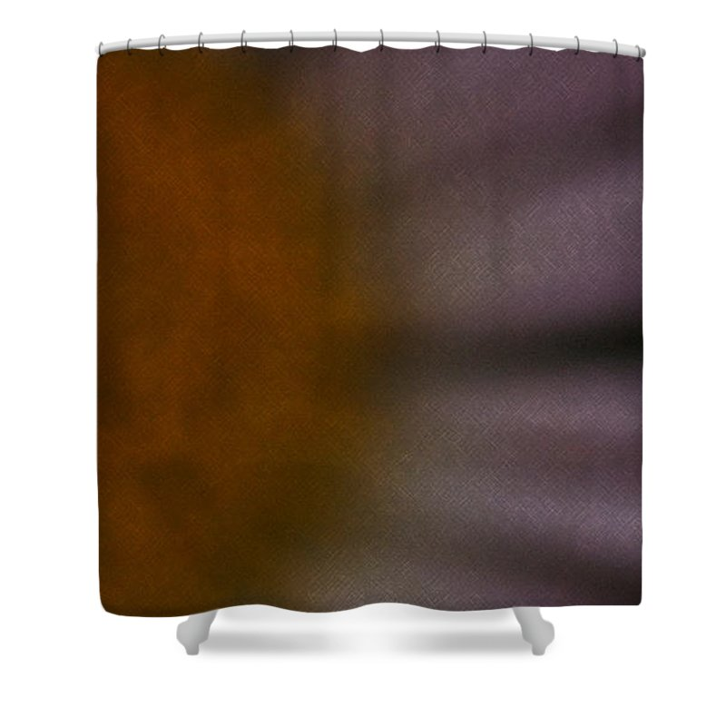 Flower Shower Curtain featuring the photograph Obscure by Linda Shafer