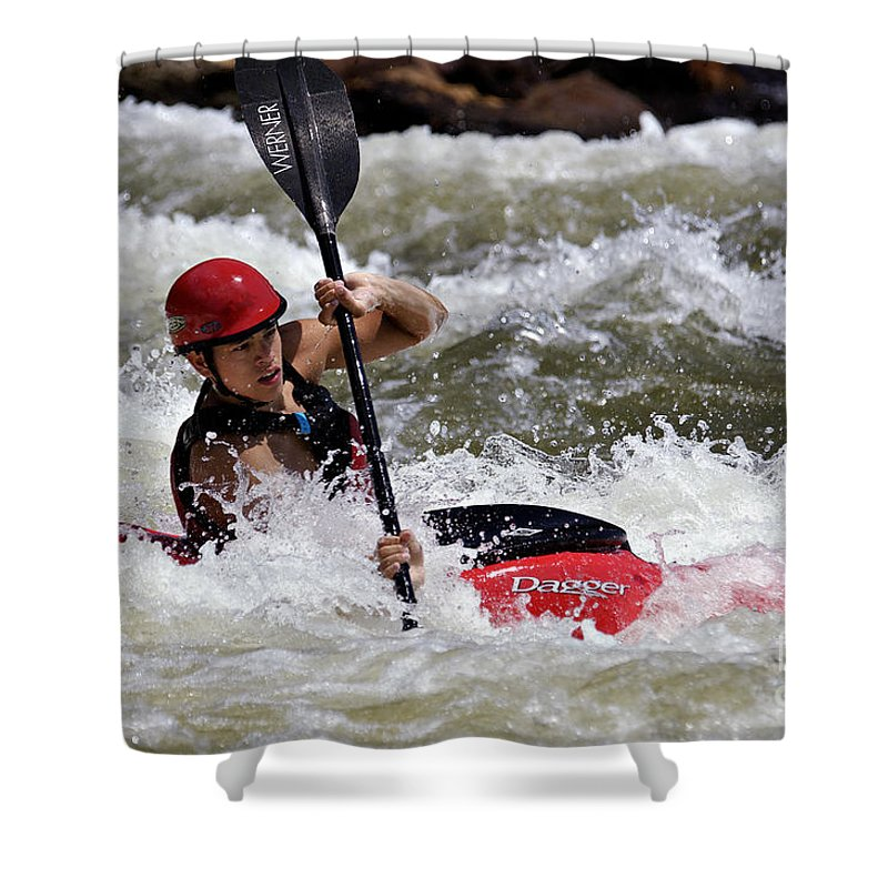 Adult Shower Curtain featuring the photograph Ocoee - D005834 by Daniel Dempster