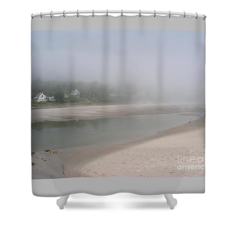Landscape Shower Curtain featuring the photograph Ogunquit River Maine by Joy Bradley