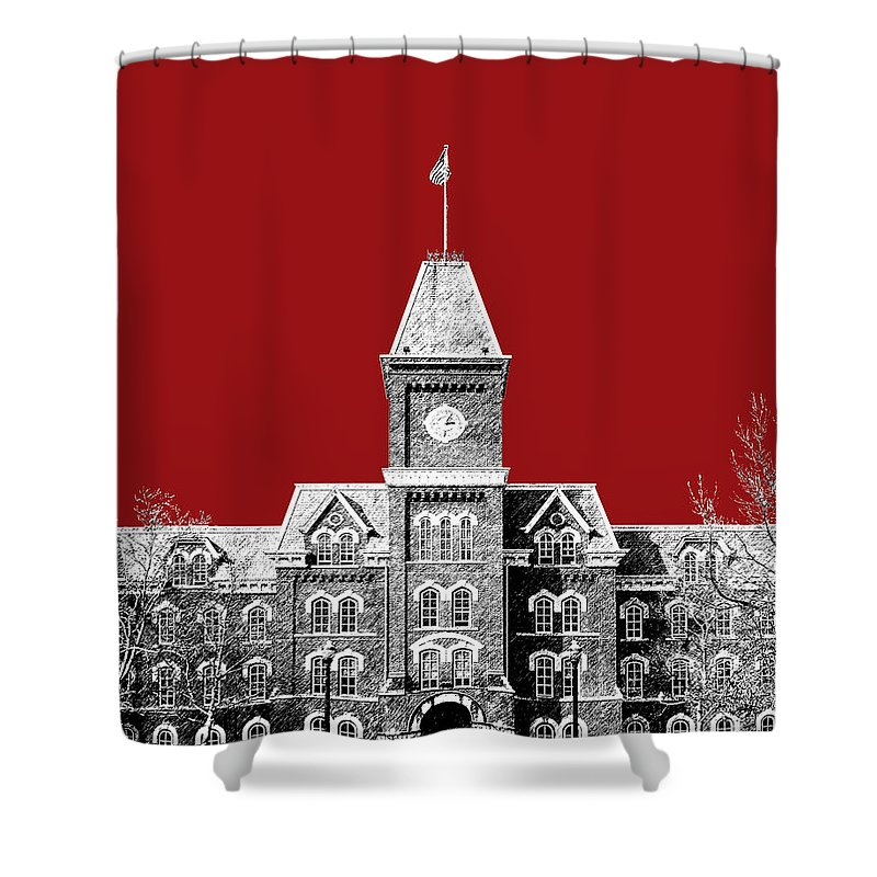 Columbus Tower Shower Curtains