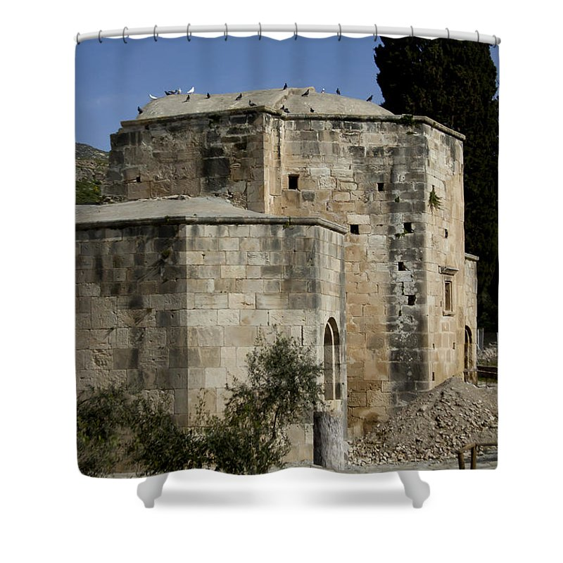 Church Shower Curtain featuring the photograph Old Church  #7173 by J L Woody Wooden