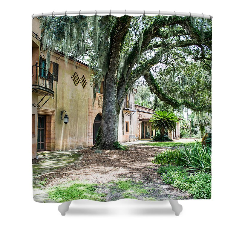 Susan Molnar Shower Curtain featuring the photograph Old Florida Style II by Susan Molnar