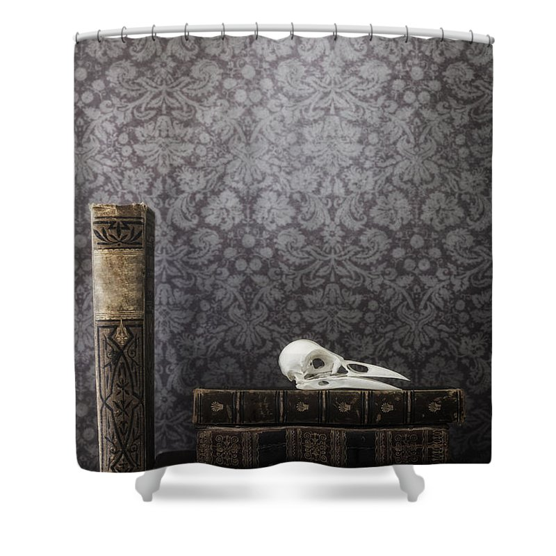 Book Shower Curtain featuring the photograph Old Library by Joana Kruse