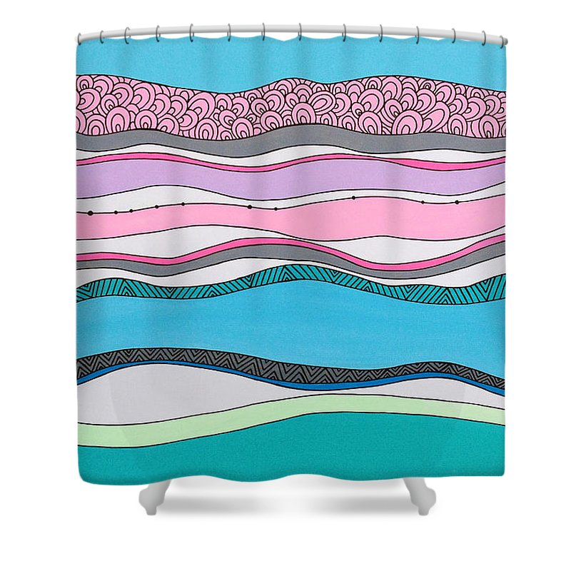 Tidal Shower Curtains