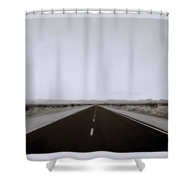 America Shower Curtain featuring the photograph Driving Across America by Shaun Higson