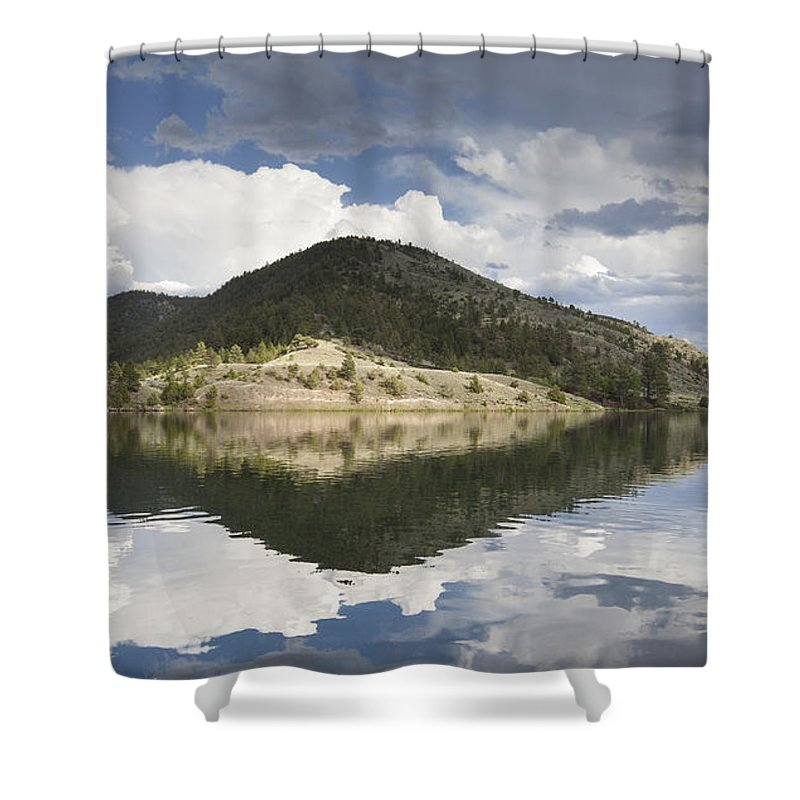 York Shower Curtain featuring the photograph On The Road To York by Fran Riley